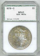 USA 1 DOLLAR 1878S MS 63