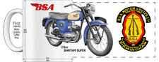 "BSA 175cc BANTAM SUPER MOTORCYCLE ""HIGH DETAILED"" IMAGE COFFEE MUG"
