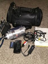 New ListingSony Handycam Dcr-Trv740 Digital-8 Camcorder W/ Bag, Remote, Battery & Cables.