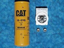 NAPA 4770 / WIX 24770 fuel filter remote mounting base PLUS 1 CAT 1R-0749 filter