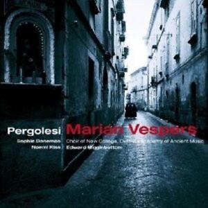 HIGGINBOTTOM/NEW COLL.OXF./AAM - MARIAN VESPERS 2 CD CHOR LIED NEUF PERGOLESI