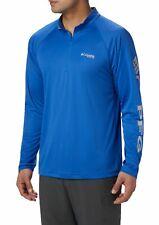 Nwt Men's Columbia Terminal Tackle Quarter Zip Pullover Long Sleeve Shirt