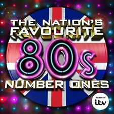 "THE NATION'S FAVOURITE 80'S NUMBER ONES 3 CD SET "" BRAND NEW & SEALED"