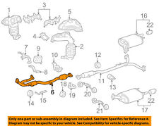 TOYOTA OEM 07-11 Camry 3.5L-V6 Exhaust System-Front Pipe 174100P100