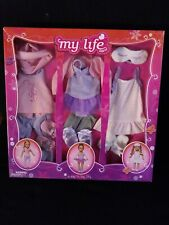 BNIB MY LIFE AS Ballerina 8 PIECES SET 18 INCH DOLL CLOTHES CLOTHING