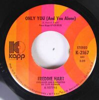 Country 45 Freddie Hart - Only You (And You Alone) / Funny, Familiar, Forgotten
