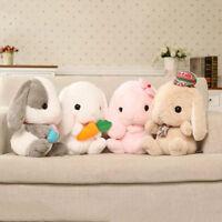LD_ QA_ Cute Rabbit Soft Plush Toy Stuffed Animal Bunny Doll Sleeping Pillow F