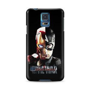 Civil War Iron Man case for Galaxy s20 s20+ s10e 9 8 note 20 Ultra 10 cover TN