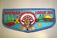 OA KOOTAGA LODGE 201 MERGED 527 618 AREA COUNCIL SCOUT PATCH BLUE SERVICE FLAP