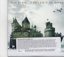 Tim Finn-Couldnt Be Done Promo cd single