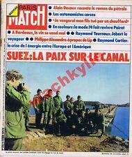 Paris match 1292 of 09/02/1974 suez ariel sharon oil ysl paul poiret fellini