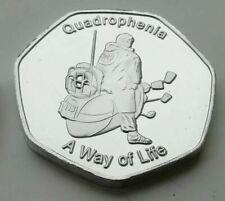 New Rare THE WHO QUADROPHENIA MODS Commerative Collectors Coin Capsule 50p