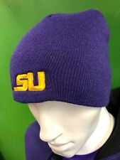 WH287 NCAA Louisiana State Tigers Woolly Beanie Hat OSFA
