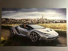 Picture Poster RARE L@@K 1963 Lamborghini Historic 50th Anniversary Print