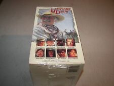 LONESOME DOVE BOX SET OF 4 VHS TAPES *NEW*