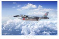 "B-58 Hustler Aviation Art Print by Mark Karvon, Size 16"" x 24"""