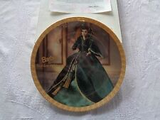Enesco Barbie As Scarlett O'Hara In Gone With The Wind Plate First In A Series