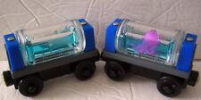 Thomas Train & Friends AQUARIUM CARS Shark/Octopus Blue Water *Lot of 2* Sodor