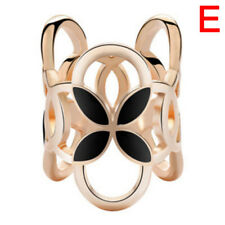 Drops Pearl Camellia Scarf Clip Brooch Pin Hollow Out Shawl Buckle Women KQ