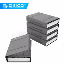 5 Pack ORICO 3.5 inch HDD Hard Drive Protective Case SDD Storage Box