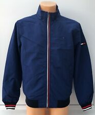 TOMMY JEANS Blue Full Zip Casual Bomber Jacket Coat Size XL BNWT