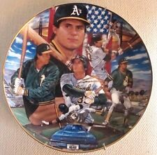 MLB Oakland Athletics Jose Canseco 1989 Sport Impression Official Licensed Plate
