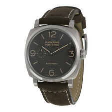 Panerai Radiomir Automatic Brown Dial Buffalo Leather Mens Watch PAM00619