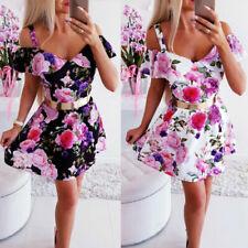 Robes à motif minis Floral pour femme