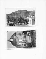 2 Vintage Postcards** SCOTTY'S CASTLE * DEATH VALLEY CA ** RPPC