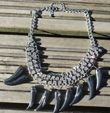 Fashion jewellery- silver necklace