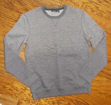 Men's Marc Anthony Dark Gray Marled Slim-Fit  SWEATShirt Size Medium