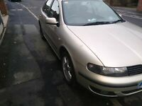 SEAT TOLEDO 1.9TDI 03 PLATE MOT AUG 21. Non PD engine 110bhp Not Leon or Octavia