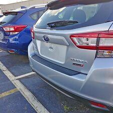 Rear Bumper Protective Molding 02 Scratch Guard For: Impreza Hatchback 2017-2021 (Fits: Subaru)
