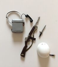Vintage 1/6 scale 1966 Palitoy Action Man Air Police Accessories Set. (No.34405)