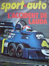 revue SPORT AUTO 1976 OPEL KADETT GTE / LAUDA / LAFFITE / FORMULE 1 G.P / n°176