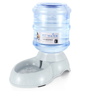 Pet Water Dispenser Station Self Replenish Waterer Drinking Fountain, 3 Gallon