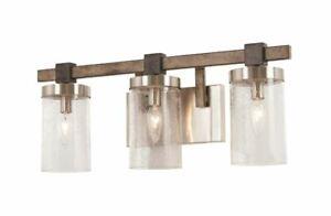 Bridlewood 3-Light Brushed Nickel Light by Minka Lavery 4633-106 (P)