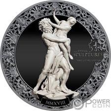 RAPE OF PROSERPINA Eternal Sculptures 2 Oz Silber Münze 10$ Palau 2018