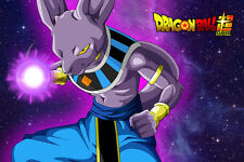 Dragon Ball Super Poster Beerus 12in x 18in Free Shipping