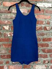 New listing Vintage 1920s 30s Blue Cotton Swim Bathing Suit Play Suit Gym Antique Nos Sz 34
