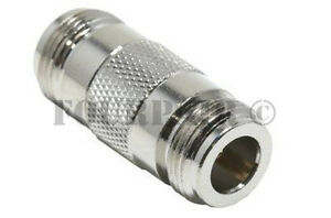 N-Type Double Female Jack Coupler RF WiFi Antenna Coax Adapter Barrel Connector