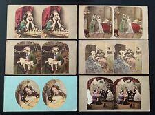 More details for 28 antique genre stereoviews. wedding, chess, red riding hood etc