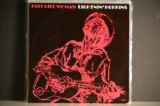 LIGHTNIN' HOPKINS FAST LIFE WOMAN LP 1962 V8453 VERVE MONO