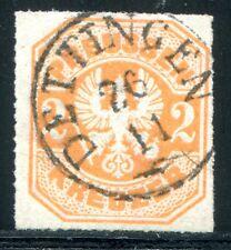 Di Prussia 1867 23 timbrato attrazione Dettingen (d4640