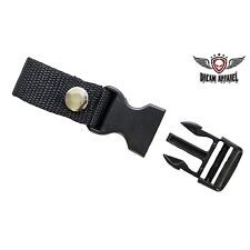 """1"""" Motorcycle Helmet Quick Release Clip with Snap - free shipping"""