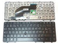 Clavier Français AZERTY pour HP 640 G1 avec trackpoint