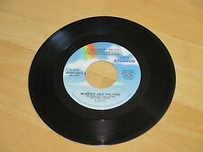 McBRIDE AND THE RIDE - CAN I COUNT ON YOU  B/W - TURN TO BLUE  VG