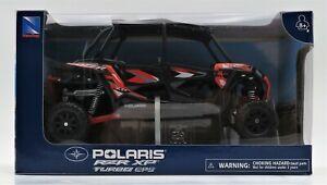 Diecast Toy Polaris RZR XP Turbo EPS UTV New Ray Die Cast 1:18 Orange Black New