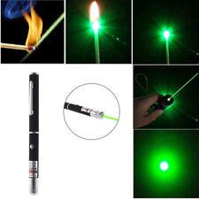 Powerful Green Laser Pointer Pen Visible Beam Light 5mW Lazer High Power 532n YA