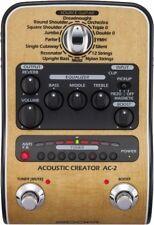 Zoom AC-2 Acoustic Creator Multi FX Effektgerät + Preamp für Akustik Gitarre